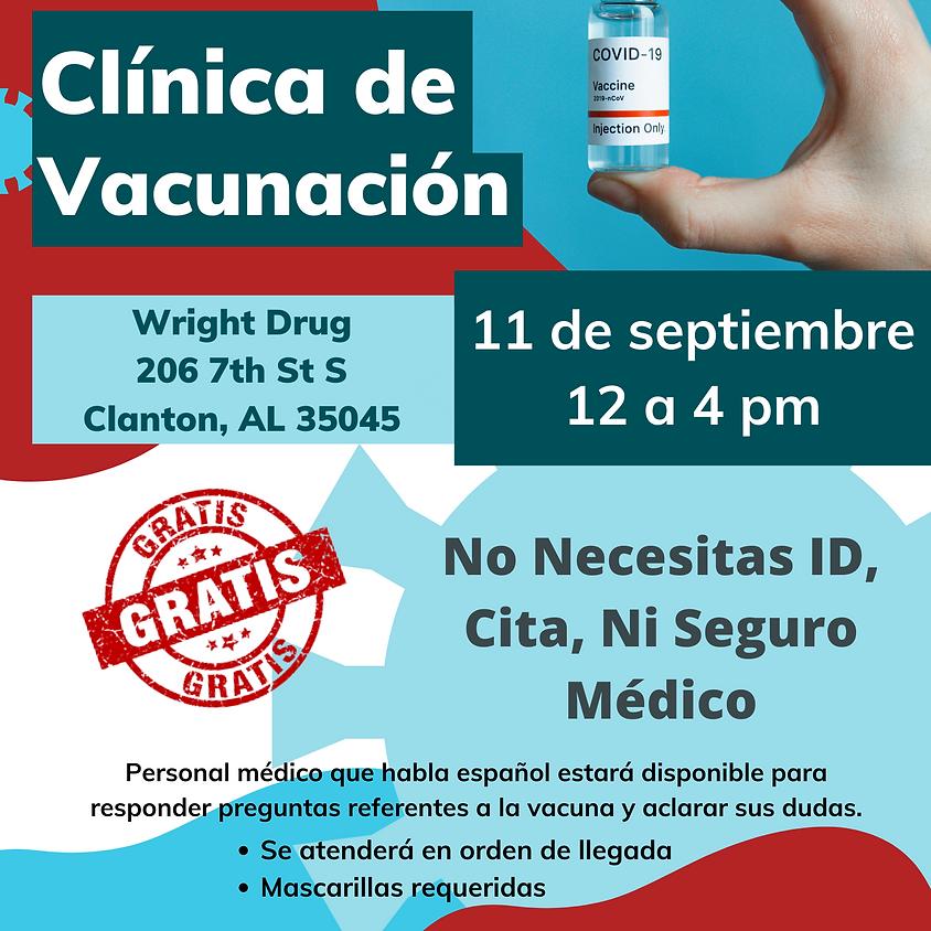Clínica de vacunas de Clanton