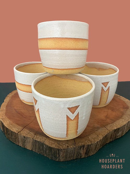 Aztec Planters by Clay by Tina