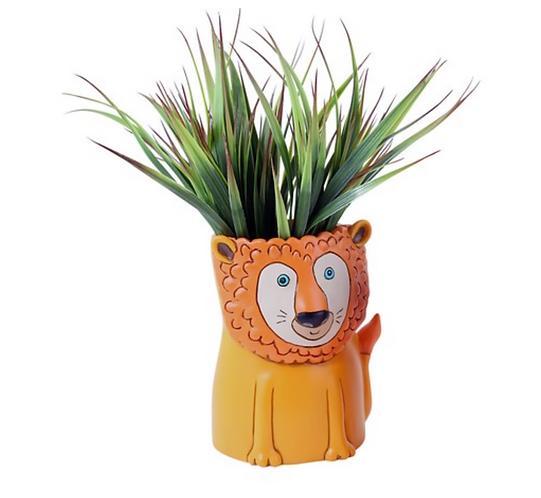 Lion Planter by Allen Designs