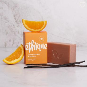 Ethique Solid Body Wash (Sweet Orange & Vanilla)