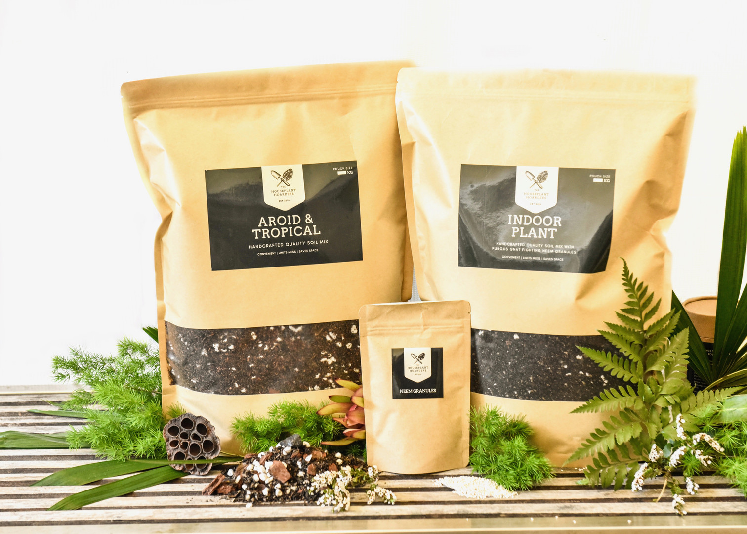 The Hoarders Plant Care Soil Mixes