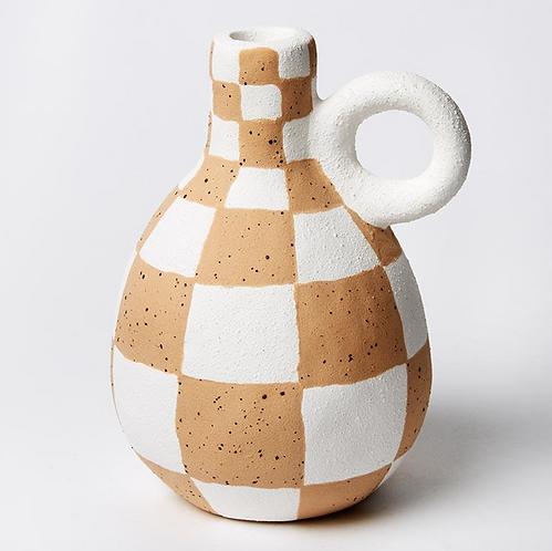 Jones & Co Checked Bud/Propagation Vase
