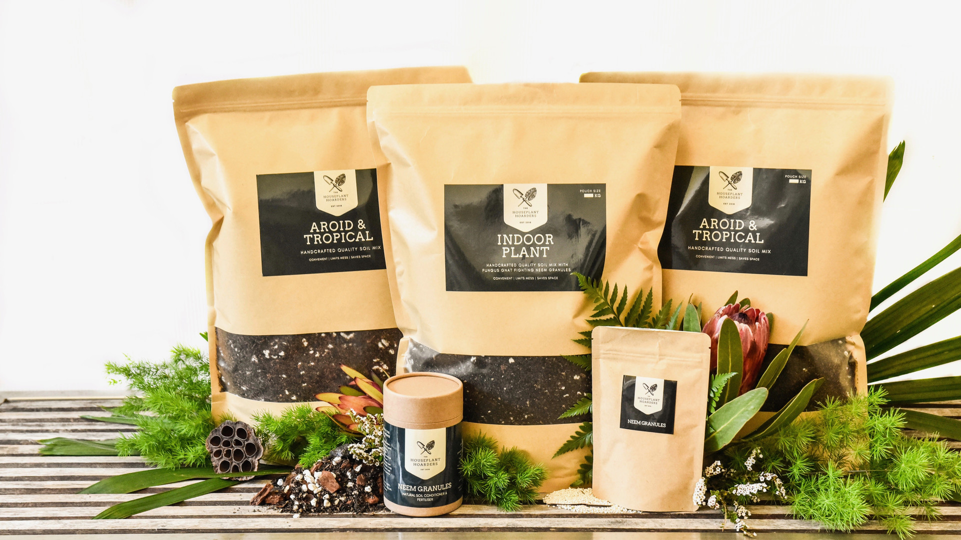 The Hoarders Plant Care Range