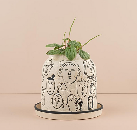Handmade Persona Pot By Urban Diddle