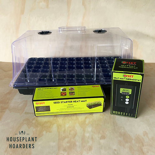 Heated Propagation Pack (Includes: Heated Mat, Growing Dome, Tray & Thermostat)