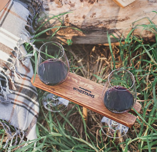 Winestains Picnic Stake