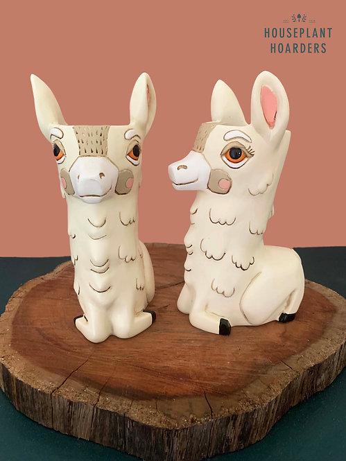 Llama Planter by Allen Designs
