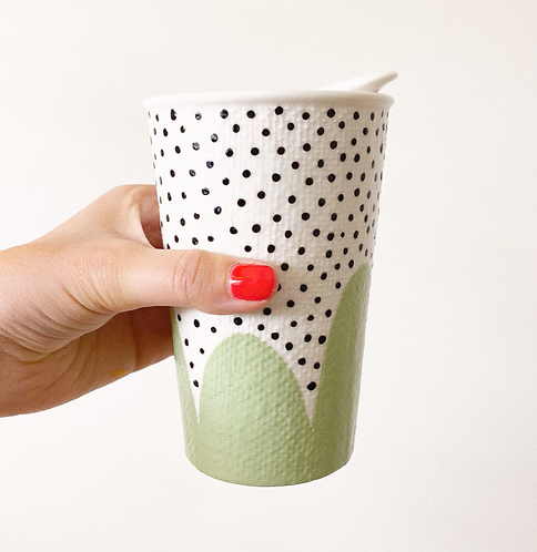 Forever Cup by Hello Lola Sage Poppy Seed
