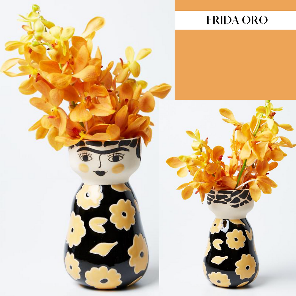 Jones & Co Frida Olo Face Vase