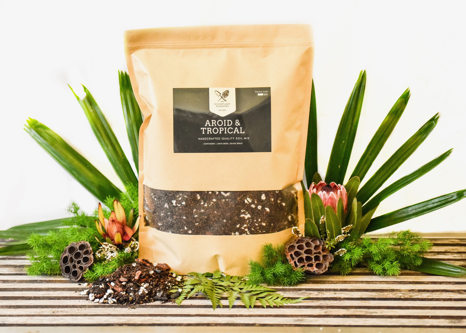 The Hoarders Plant Care Aroid & Tropical MIx