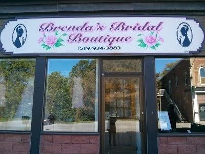 Brenda's Bridal Boutique store front Tara, Ontario