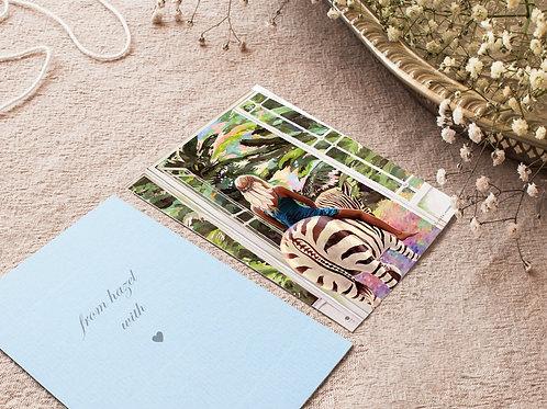 Postkarten Set mit 10 Karten
