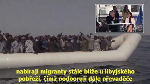 Frontex chce posílat imigranty zpět do Afriky