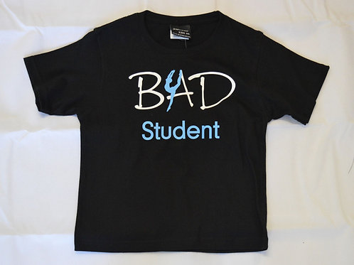BAD Student T-shirt (Black)