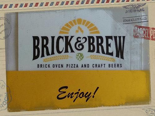 Brick & Brew Gift Card