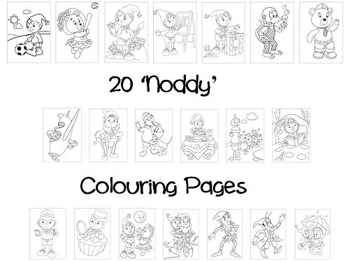 Noddy & Friends - Colouring Pack