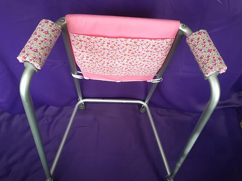 Pink/Roses Zimmer Frame Bag