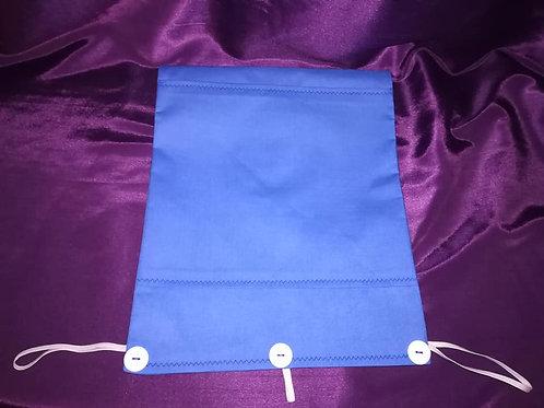 Plain Blue -  Zimmer Frame Bag