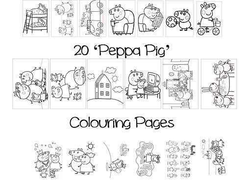 Peppa Pig - Colouring Pack