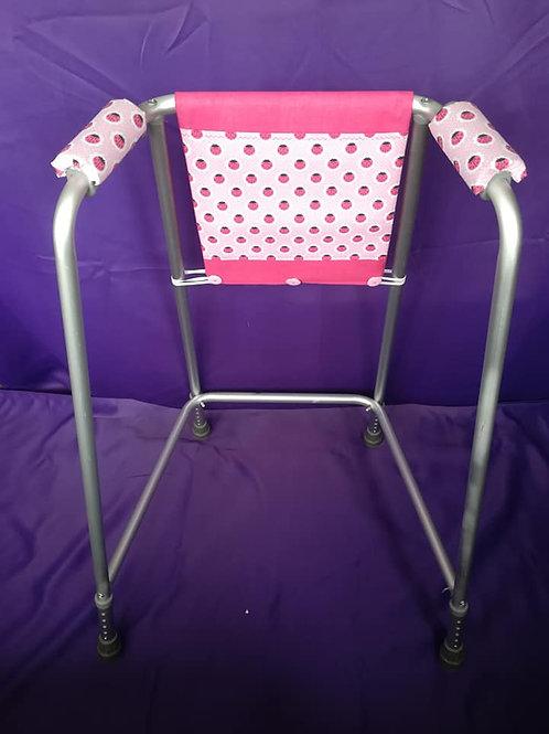 Pink & Ladybirds Zimmer Frame Bag