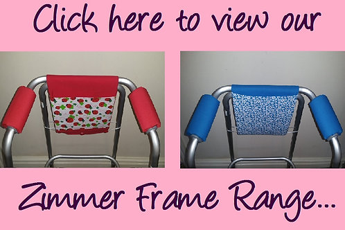 Zimmer/Walking Frame Handle Covers