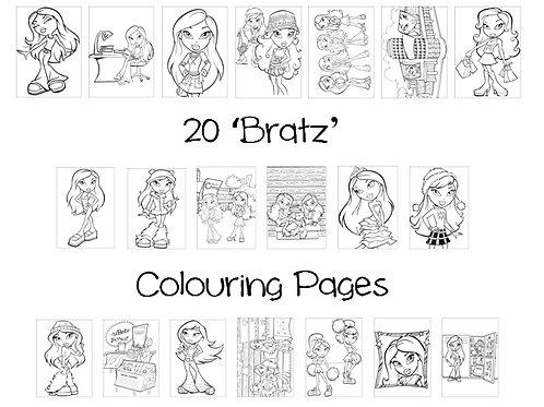 Bratz - Colouring Pack