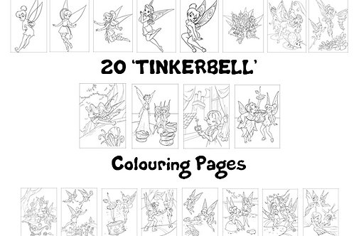 Tinkerbell - Colouring Pack