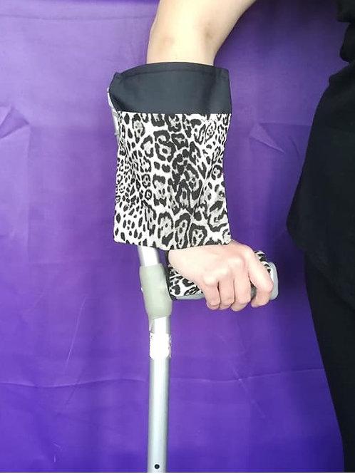 Leopard Print - Crutch Cuff Bag