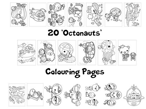 Octonauts - Colouring Pack