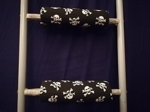Pirate Skull & Crossbones - Ladder Rung Covers