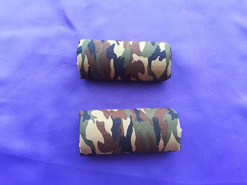 Khaki Camouflage Crutch Handle Covers (Pair)