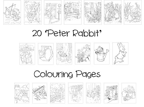 Peter Rabbit - Colouring Pack