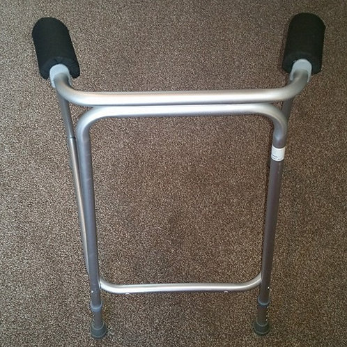 Black Zimmer/Walking Frame Handle Covers