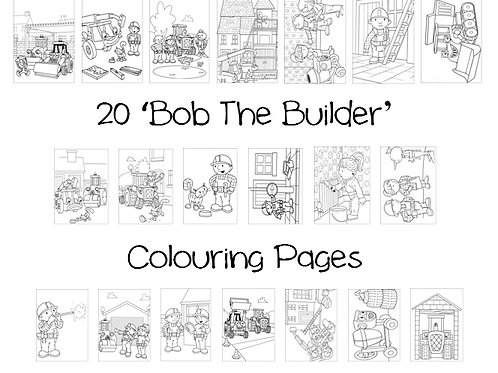 Bob The Builder - Colouring Pack