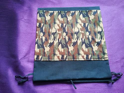 Black/Khaki Zimmer Frame Bag