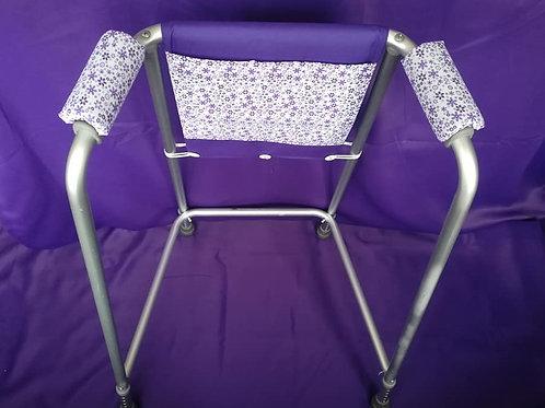 Purple/Daisies Zimmer Frame Bag
