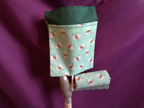 Green Bees - Crutch Cuff Bag