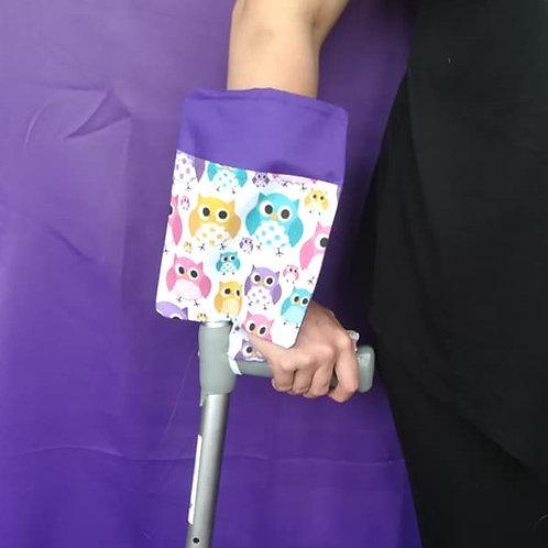 Owls - Crutch Cuff Bag