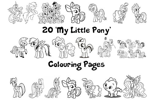 My Little Pony - Colouring Pack