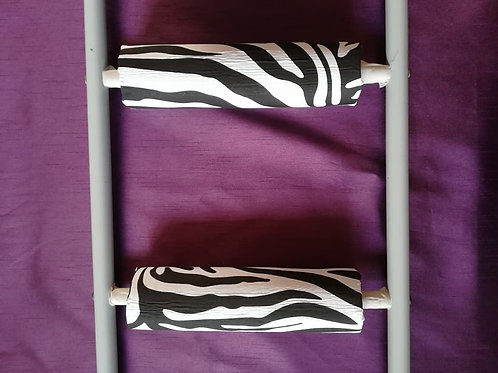 Zebra Print - Ladder Rung Covers