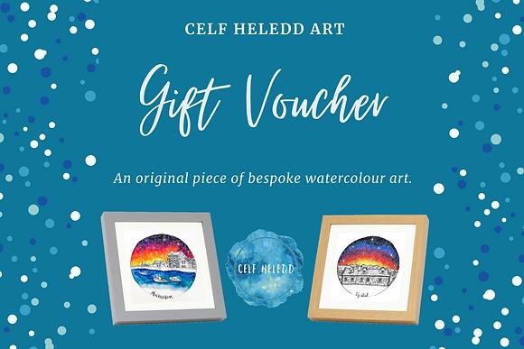 Gift Voucher - Original Watercolour