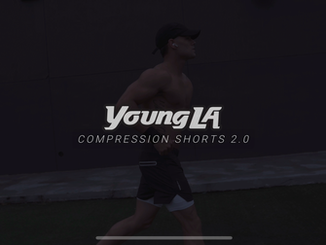 Young LA - Created for social media ads, to promote Young LA's new Compression shorts.