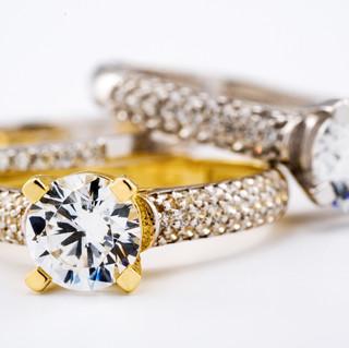 engagement-diamond-wedding-ring-group-on