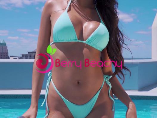 Berry Beachy Swimwear - Social Media Story Post