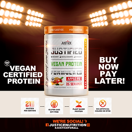 Vegan Certified Protein buy now pay late