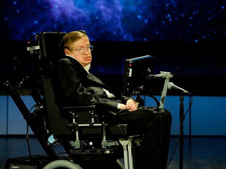 Stephen Hawking - Truly Worthy of Being on a Pedestal