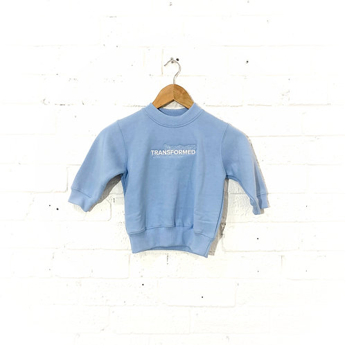 Kids Light Blue Crew Neck
