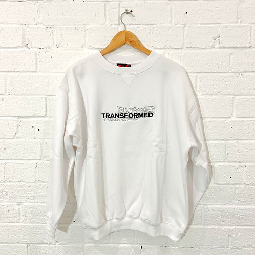 Adult White Crew Neck