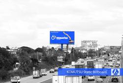 KOMATSU Billboard