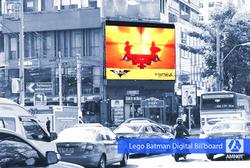 Lego Bat Digital Billboard